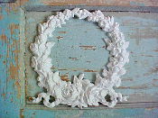 Huge Shabby Wreath with Roses