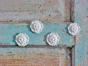 Rosettes  (set of 4)