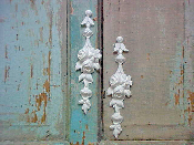 Shabby Chic Drops (set of 2)