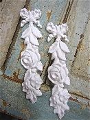 Shabby Bow Drops (set of 2)