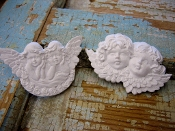 Shabby Baby Cherubs Appliques (set of 2)