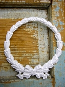 Shabby n Chic Bow Wreath