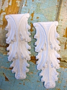Small Architectural Leaves (set of 2)