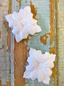 Shabby Rosettes (set of 2)
