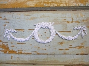 Shabby Wreath with Roses and Swags