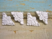 Miniature Decorative Corners (set of 4)
