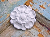 Shabby Rosette of (set of 4)